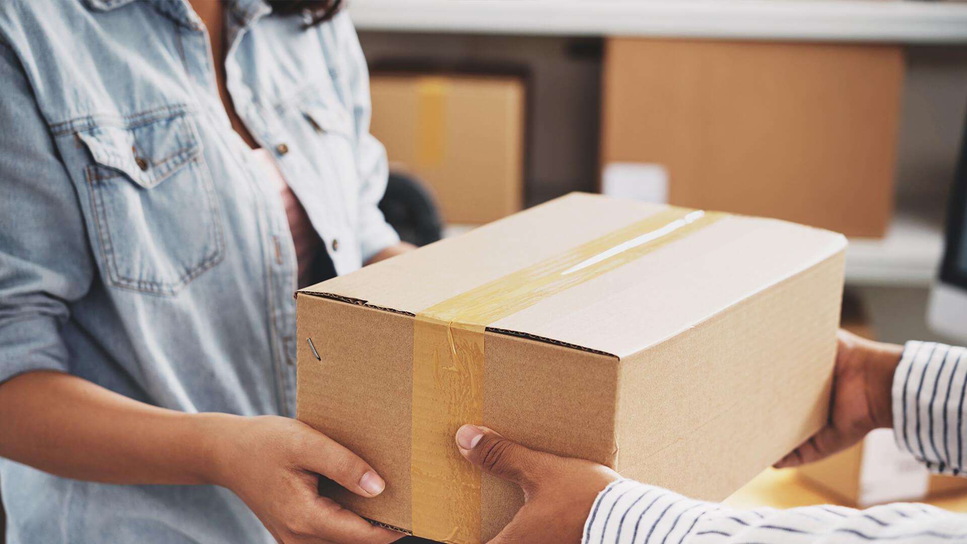 Paket in Zustellung, aber es kommt nicht